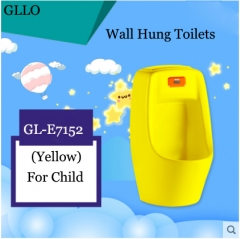 GLLO Toilet GL-E7152 Wall Mounted Toilet Top Quality For Child Sensor Cheap Toilets