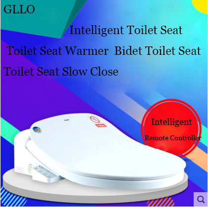 GLLO Toilet Seat GL-991C Intelligent Toilet Seat With Heater Led Light Toilet Seat Slow Close Bidet Toilet Seat