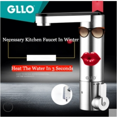 GLLO Kitchen Faucets GL-T3738 Electric Kitchen Faucets Hot Water Instant Heater Cold Water Tankless Best Kitchen Faucets
