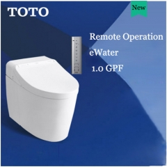 TOTO Neorest CES9565CS Dual Flush Elongated Toilet Seats Tornado Flush Instant Hot Intelligent One Piece Toilet With Toilet Seat Warmer 1.0/0.8 GPF