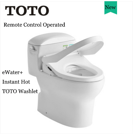 TOTO Toilets CW988REB+TCF7932ECS TOTO Washlet Modern Toilets Instant Hot Tornado Intelligent One Piece Toilet With Toilet Seat With Heater 1.26 GPF