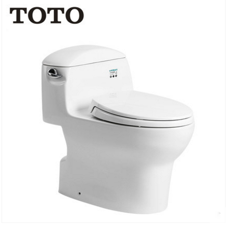TOTO Toilets CW988GB Elongated Toilet Seats Side Tornado Flush TOTO Toilets Seat Slow Close 1.26 GPF