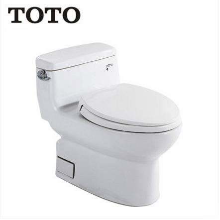 TOTO Toilets CW886B Cefiontect Side Siphon Jet Flush TOTO Toilets With Elongated Toilet Seats 1.58 GPF