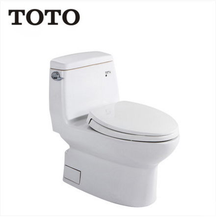 TOTO Toilets CW874B TOTO Toilets Seats Soft Close Cefiontect Side Siphon Jet Flush With Elongated Toilet Seats 1.58 GPF