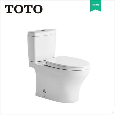 TOTO Toilets CSW982B-983 Cefiontect Skirted Design Top Dual Siphon Jet Flush TOTO Toilet Seat Slow Close 0.79 GPF