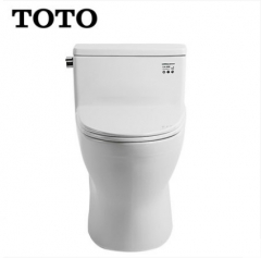 TOTO Toilets CW188B TOTO One Piece Toilet Cefiontect Skirted Design Side Tornado Flush With Toilet Seat Soft Close 1.0 GPF