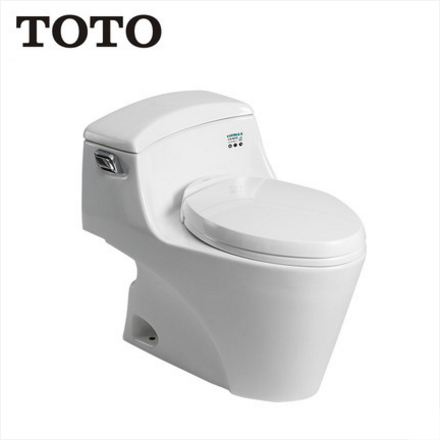TOTO Toilets CW923GBVD TOTO One Piece Toilet Cefiontect Skirted Design Water Saving Side Flush Toilet Seat Slow Close 1.26 GPF