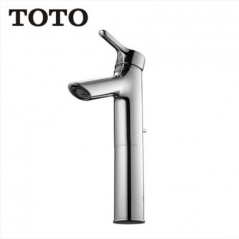 TOTO Bathroom Faucet TLS01304B Brushed Chrome Bathroom Faucets Modern Bathroom Faucets Single Hole Bathroom Sink Faucets