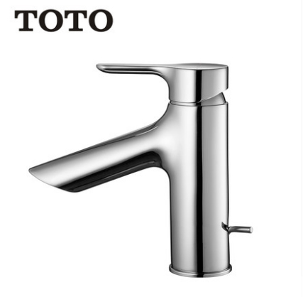 TOTO Bathroom Faucet TLS01301B Polished Chrome Bathroom Faucets Best Bathroom Faucets Single Hole Bathroom Sink Faucets