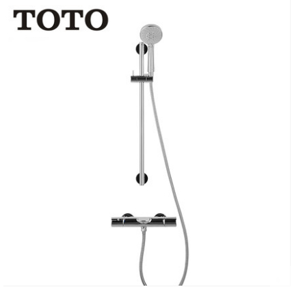 "TOTO Shower Faucet TBW01S06BVD 1/2"" Thermostatic Mixing Valve Trim Concealed Tub Spout Shower Head With Hose And Hand Held Shower Heads 5 Spray Modes"