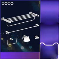 TOTO Bathroom Accessories YS408N5C Wall Mount Multiple Function Bath Tower Holder Toilet Paper Holder 5 Sets