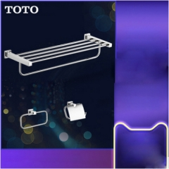TOTO Bathroom Accessories YS408N3C Wall Mount Stainless Steel Bath Tower Holder Toilet Paper Holder 3 Sets
