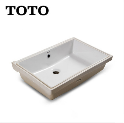 TOTO Bathroom Sink LW596RB Bathroom Vessel Sinks TOTO Cefiontect Technology Undermount Bathroom Sinks Without Drainer