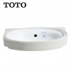 TOTO Bathroom Sink L764EB Bathroom Vessel Sinks TOTO Cefiontect Technology Undermount Bathroom Sinks Without Bathroom Sink Faucets And Drain