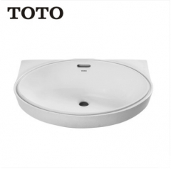 TOTO Bathroom Sink LW548BVD Vessel Sink Vanity TOTO Cefiontect Technology Undermount Bathroom Sinks Without Bathroom Sink Faucets And Drain
