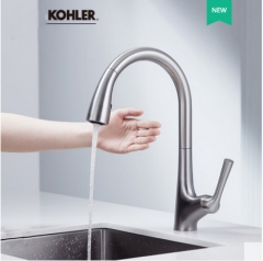 Kohler 77748T Malleco Touchless Kitchen Faucet With Pull Down Sprayer