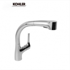 Kohler Kitchen Faucets 13963T Kohler ECP Kitchen Sink Faucet 2 Spray Kitchen Faucet With Pull Down Sprayer