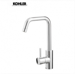 Kohler Kitchen Faucets 97274T Kohler Cuff Polished Chrome Kitchen Sink Faucets