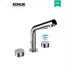 Kohler Bathroom Faucets 28555T Kohler Touchless Bathroom Sink Faucets With 2 Spray Pull Down Bathroom Faucet