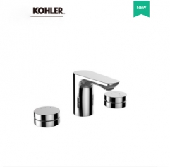 Kohler Bathroom Faucets 26800T Kohler Aleo 3 Hole Touchless Bathroom Sink Faucets
