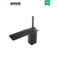 Kohler Bathroom Faucets 72842T Kohler Bathroom Faucets In Brushed Nickel Single Handle Bathroom Faucet Black With Kohler Drain