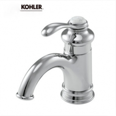Kohler Bathroom Faucets 8657T Kohler Fairfax Antique Brass Bathroom Faucet With Kohler Bathroom Sink Drain