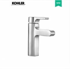 Kohler Bathroom Faucets 10860T Polished Nickel Kohler Single Hole Bathroom Faucet With Original Kohler Bathroom Sinks Drainer