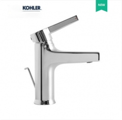 Kohler Bathroom Faucets 28087T Kohler Single Hole Bathroom Faucet With Polished Chrome And Kohler Original Drainer