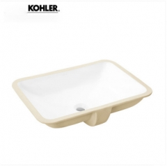 Kohler Bathroom Sinks 2949T Kohler Forefront Stone Vessel Sinks Ceramic Rectangular Undermount Bathroom Sinks Without Bathroom Sink Drain Stopper