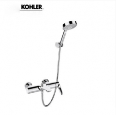 "Kohler Shower Head 72282T Aleo 1/2"" Thermostatic Mixing Valve Tub Spout High Pressure Shower Heads 3 Spray Modes"