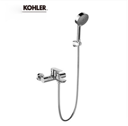 "Kohler Shower Faucets 25107T Kohler Shower Head Aleo 1/2"" Pressure Balanced Shower System Tub Spout And Hand Held Shower Heads 3 Spray Modes"