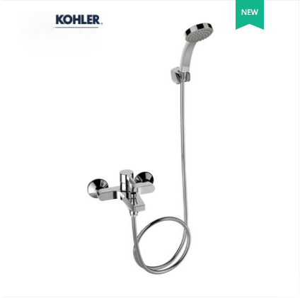 "Kohler Shower Faucets 28091T Kohler Shower Head 1/2"" Pressure Balanced Shower System Tub Spout And Rain Shower Head With Handheld 1 Spray Mode"