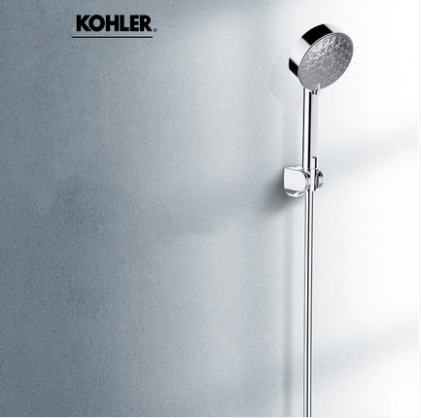 "Kohler Shower Head R72415T Polished Chrome 1/2"" Kohler Rain Shower Head With Handheld 3 Spray Modes"
