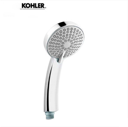 "Kohler Shower Head 12861T Polished Chrome 1/2"" Kohler Shower Head With Hose 4 Spray Modes"