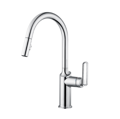 Moen Kitchen Faucets GN69402 Brushed Nickel Kitchen Faucet Moen Pull Down Kitchen Faucet With 2 Spray