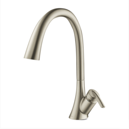 Moen Kitchen Faucets GN60110 Polished Nickel Spot Resistant Single Handle Kitchen Faucet