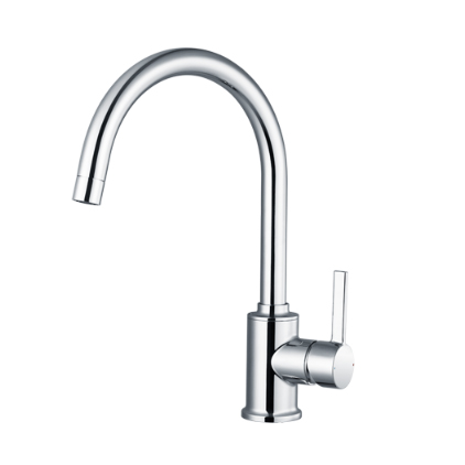 Moen Kitchen Faucets GN70211 Polished Chrome Spot Resistant Single Handle Kitchen Faucet