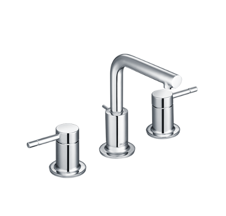 Moen Bathroom Faucets GNT69229 Polished Chrome Widespread Bathroom Faucet