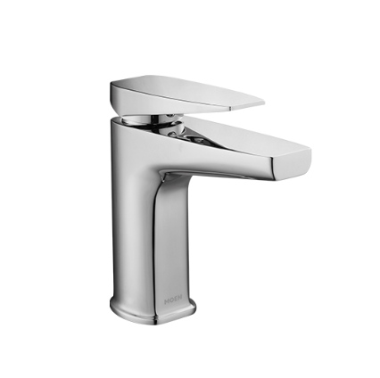 Moen Bathroom Faucets GN68121 Brushed Nickel Bathroom Faucets With Drainer