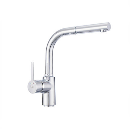 American Standard Faucets Kitchen FFAS5626 Polished Chrome Pull Down Kitchen Faucet