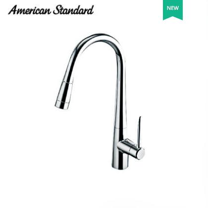 American Standard Faucets Kitchen FFAS5633 Polished Chrome Pull Out Kitchen Taps