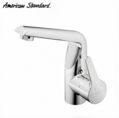 American Standard Bathroom Faucets FFAS0501 Polished Chrome Single Handle Bathroom Faucet With Drainer