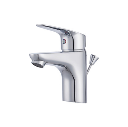 American Standard Bathroom Faucets FFAS0301 Polished Chrome Brass Bathroom Faucets With Drainer