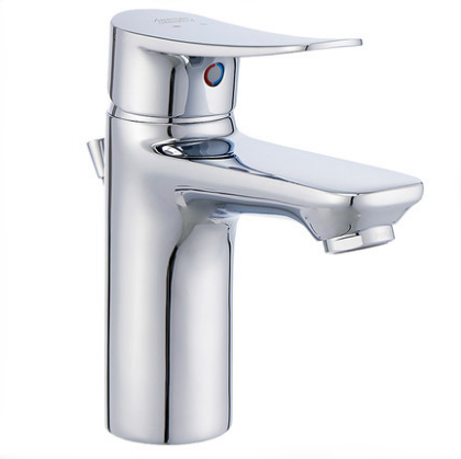 American Standard Bathroom Faucets FFAS0901 Polished Chrome Modern Bathroom Sink Faucets With Original Drainer