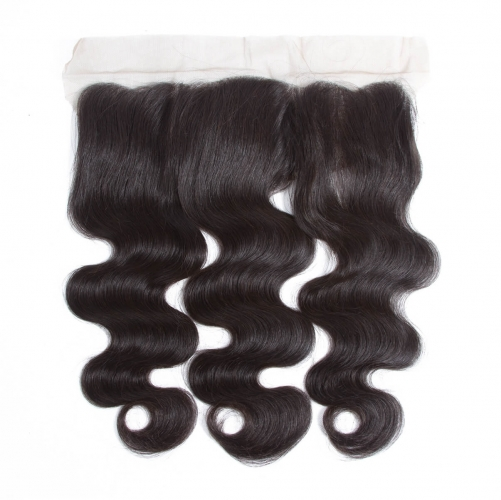 4*13 Body Wave Virgin Remy Human Hair Ear to Ear Lace Closure Frontal