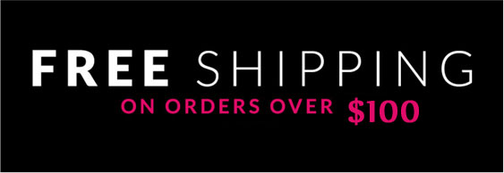 Order over $100 Free shipping
