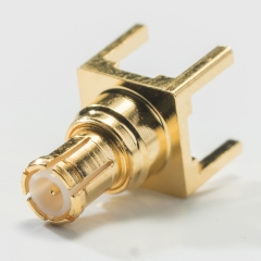 MCX Male Connector for Printed Circuits