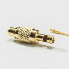 MMCX Male Straight Connector