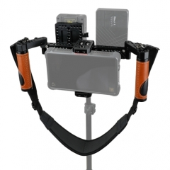 Director's Monitor Cage Kit With Handle Grips & Neck Strap