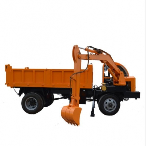China factory direct sell Truck mounted excavator for farm